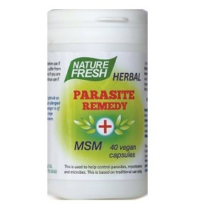 Herbal Parasite Remedy + MSM 40 capsules