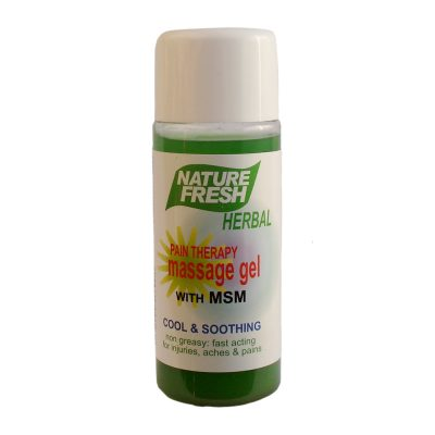 Pain Therapy Massage Gel with MSM