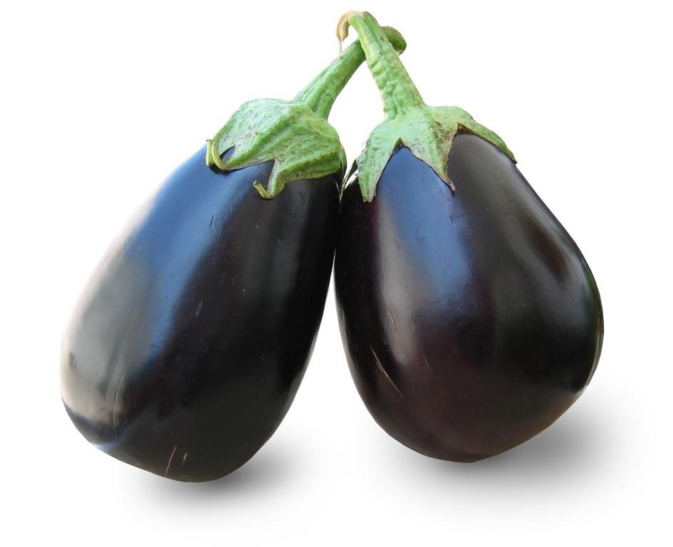 Aubergines (Eggplant): Medium X 2