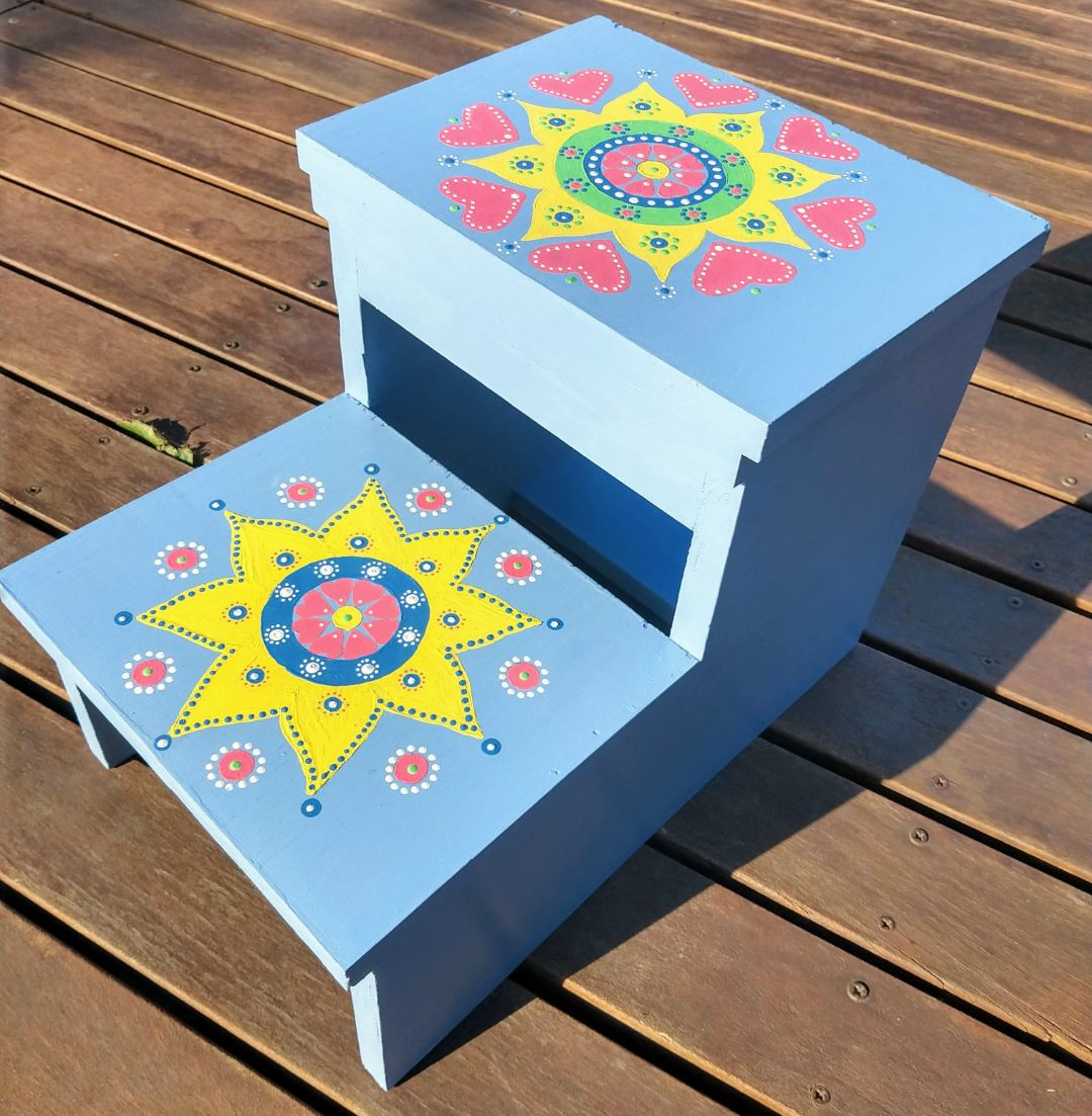 Kids Step-Stool – Made to Order