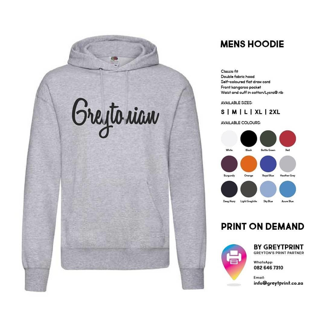 Greytonian Hoodie – Mens