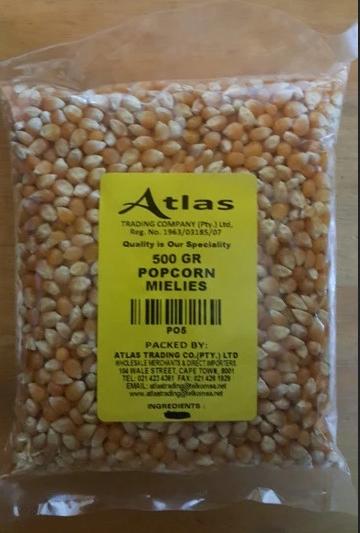 500G Popcorn Miellies