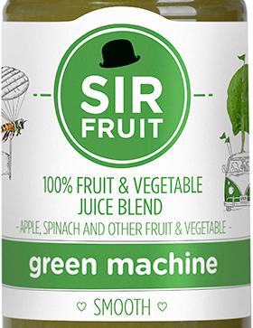 Sir Fruit Green Machine