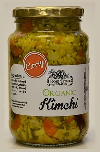Organic Kimchi – Curry – 375ml