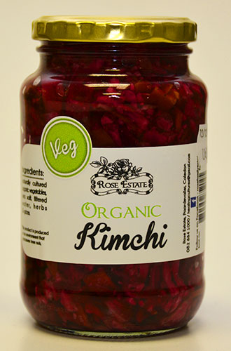 Organic Kimchi – Veg – 375ml