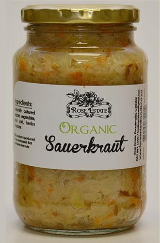 Organic Sauerkraut – 375ml