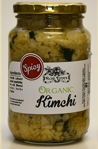 Organic Kimchi – Spicy – 375ml